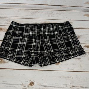 Guess Black And White Wide Band  Shorts Size 28